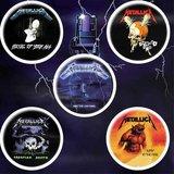 Metallica button set 'Ride The Lightning'_