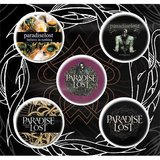 Paradise Lost button set - Crown Of Thorns_