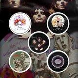 Queen button set 'Early Albums'_