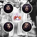 Queen button set 'Faces'_