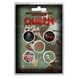 Queen button set 'News of the world'_