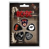 AC/DC plectrum set (5 stuks)_