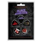 Black Sabbath plectrum set 'Purple logo'_
