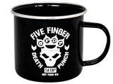 Five Finger Death Punch metalen beker Got Your Six_