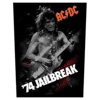 AC/DC back patch '74 jailbreak'