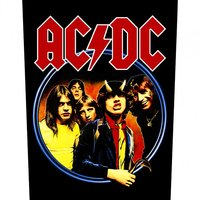 AC/DC back patch 'Highway to Hell'