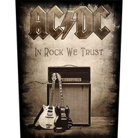 AC/DC back patch 'In Rock We Trust'