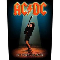 AC/DC back patch 'Let There Be Rock'