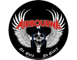 Airbourne back patch 'No Guts No Glory'