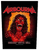 Airbourne back patch - Breakin Outta Hell