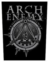 Arch Enemy back patch 'Illuminati'