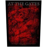 At the Gates back patch - To Drink From The Night Itself