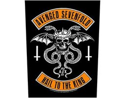 Avenged Sevenfold back patch - Biker