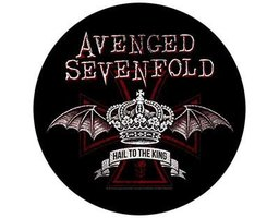 Avenged Sevenfold back patch - Red Crown