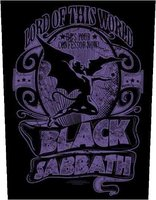 Black Sabbath back patch - Lord Of This World