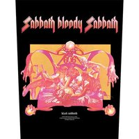 Black Sabbath back patch - Sabbath Bloody Sabbath