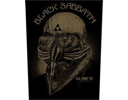 Black Sabbath back patch - US Tour 78