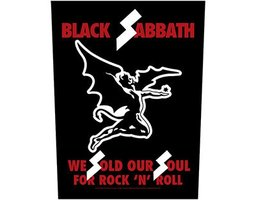 Black Sabbath back patch - We Sold Our Souls