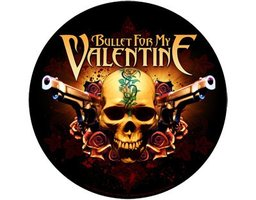 Bullet For My Valentine back patch 'Two Pistols'