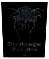 Darkthrone back patch 'True Norwegian Black Metal'