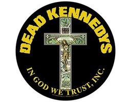 Dead Kennedys back patch 'In God We Trust'