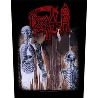 Death back patch 'Human'