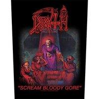 Death back patch 'Scream Bloody Gore'