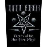Dimmu Borgir back patch 'Forces of the Northern Night'