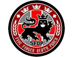 Five Finger Death Punch back patch - Legionary Seal