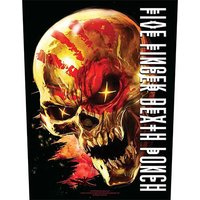 Five Finger Death Punch back patch - And Justice For None