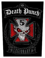 Five Finger Death Punch back patch - Legionary