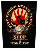Five Finger Death Punch back patch - Way Of The Fist