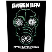 Green Day back patch '21st Century Breakdown'