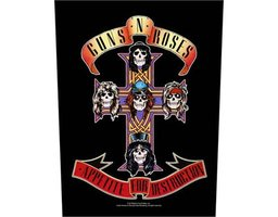 Guns N' Roses back patch - Appetite For Destruction