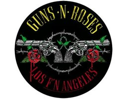 Guns N' Roses back patch - Los F N Angeles