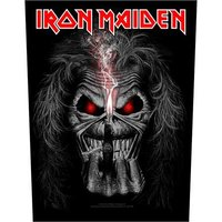 Iron Maiden back patch 'Eddie candle finger'