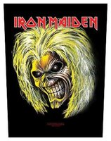 Iron Maiden back patch 'Eddie'