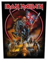 Iron Maiden back patch 'England'
