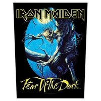 Iron Maiden back patch 'fear of the dark'