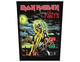 Iron Maiden back patch 'Killers'