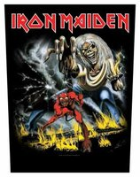 Iron Maiden back patch 'Number of the Beast'