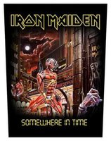 Iron Maiden back patch 'Somewhere In Time'