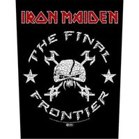 Iron Maiden back patch 'The Final Frontier'
