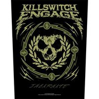 Killswitch Engage back patch 'Skull Wreath'