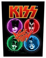 Kiss back patch 'Sonic Boom'