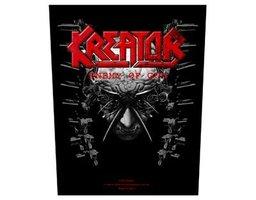 Kreator back patch 'Enemy of God'