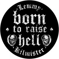 Lemmy back patch - Born To Raise Hell