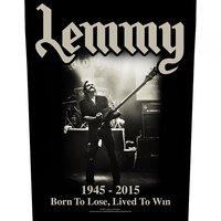 Lemmy back patch - Lived To win