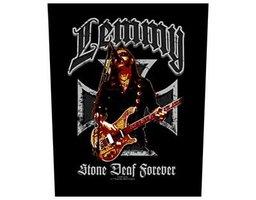 Lemmy back patch 'Stone Deaf Forever'
