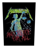 Metallica back patch '...And Justice For All'